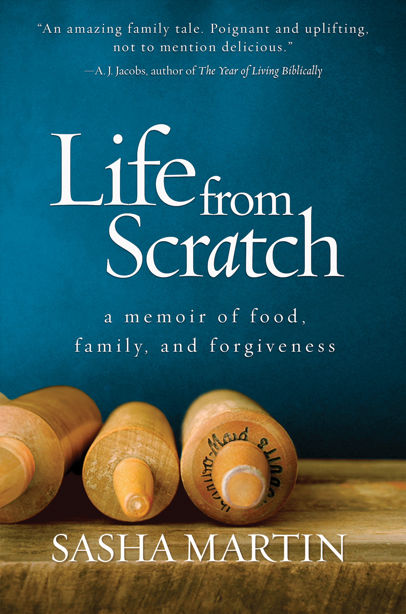 """Life From Scratch"" book cover"